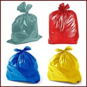 Sacos Coloridos para Lixo